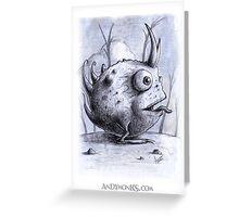Rotundus Cornu Toad Greeting Card