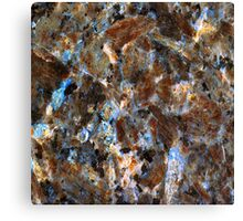 Chipped Marble Canvas Print