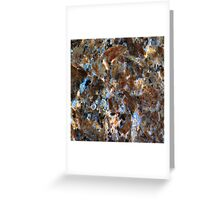 Chipped Marble Greeting Card