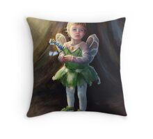 Butterfly Fairy Throw Pillow
