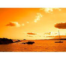 wild atlantic way sunset view ireland Photographic Print