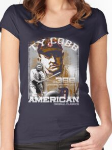 ty cobb Women's Fitted Scoop T-Shirt