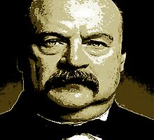 STEPHEN GROVER CLEVELAND-2 by OTIS PORRITT