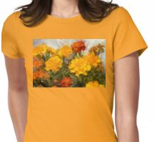 Dance of the Marigolds Womens Fitted T-Shirt