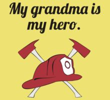 My Grandma Is My Hero Baby Tee