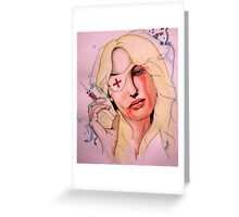 Twisted Nerve Greeting Card