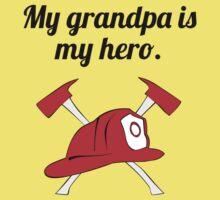 My Grandpa Is My Hero One Piece - Short Sleeve