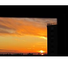 Room with a view, New York City  Photographic Print