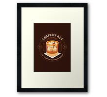 Draper's Bar Framed Print