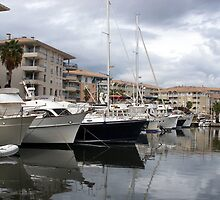Marina Of Saint-Raphael by Fara