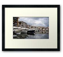 Marina Of Saint-Raphael Framed Print