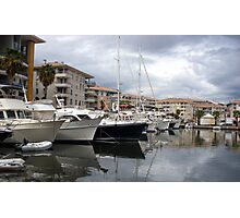 Marina Of Saint-Raphael Photographic Print