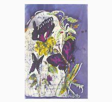 """""""Butterflies Batik - PLUM""""© Womens Fitted T-Shirt"""