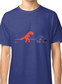 Descent of Chicken (Blue) Classic T-Shirt