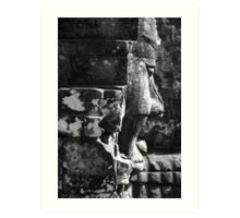 Carved in stone Art Print