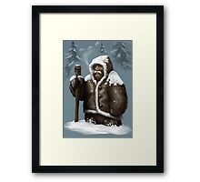 Snow Dwarf Framed Print