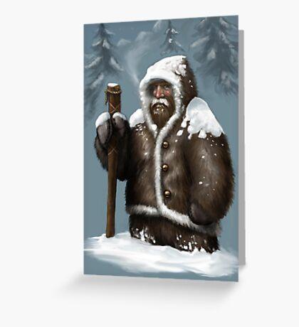 Snow Dwarf Greeting Card