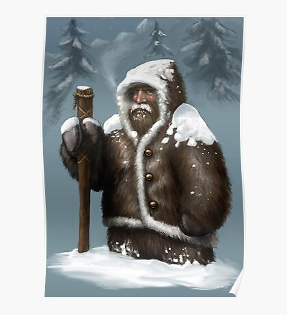 Snow Dwarf Poster