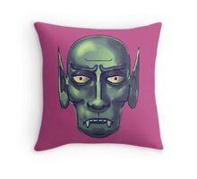 the curse of the vampire Throw Pillow