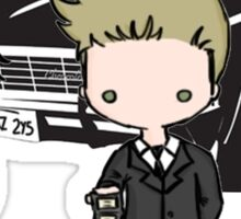 Supernatural Cartoon Dean & Sam Sticker