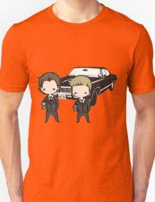 Supernatural Cartoon Dean & Sam Unisex T-Shirt