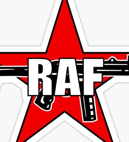 RAF Red Army Faction Sticker