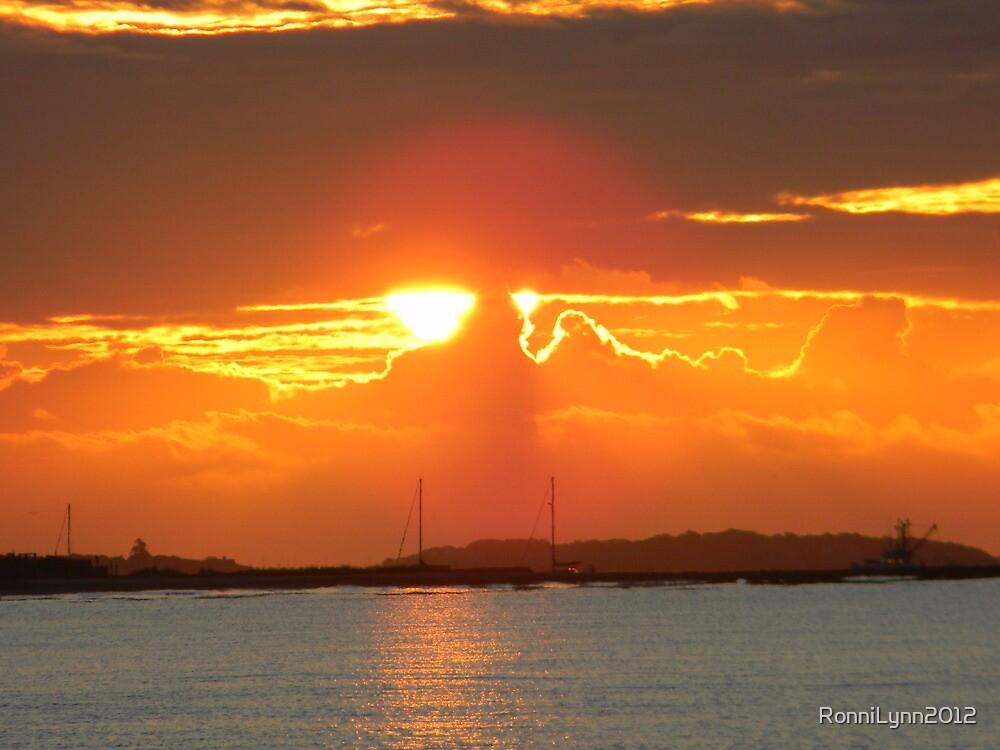 Late Summer Sunrise by RonniLynn2012