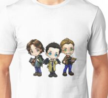 Supernatural - Dean, Sam and Castiel Unisex T-Shirt