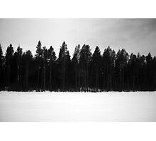Train Landscape I Photographic Print