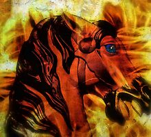 The Carousels On Fire by Donnie Voelker