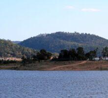 View of Wyangala Dam NSW Sticker