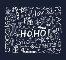 Holiday Doodles Kids Tee