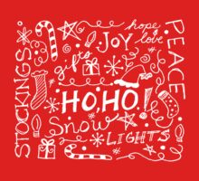 Holiday Doodles One Piece - Short Sleeve