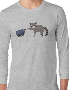 Raccoon stole my homework Long Sleeve T-Shirt
