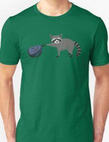 Raccoon stole my homework Unisex T-Shirt