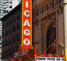 Chicago Theatre, Chicago, IL by kenelamb