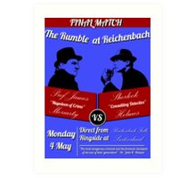Rumble at Reichenbach (Poster) Art Print