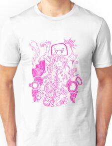 Doodle 66 Pink Unisex T-Shirt
