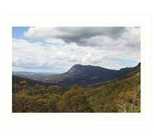 Mt. Roland from Round Mountain Scenic Overlook Art Print
