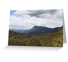 Mt. Roland from Round Mountain Scenic Overlook Greeting Card