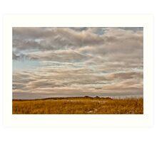 Saskatchewan Landscape Art Print