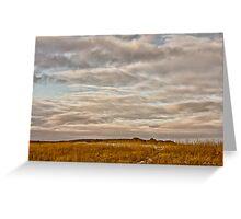 Saskatchewan Landscape Greeting Card