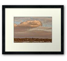 Saskatchewan Landscape Framed Print