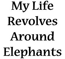 My Life Revolves Around Elephants by supernova23