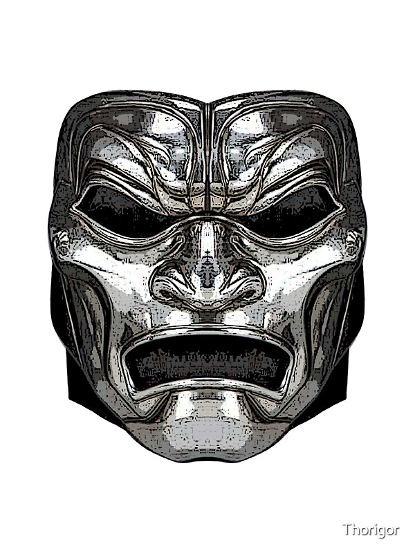 """""300"" Immortal Mask"" Stickers by Thorigor 