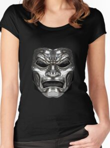 """""""300"""" Immortal Mask Women's Fitted Scoop T-Shirt"""