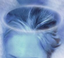 My Blue Heaven (Image and Poem) by CarolM