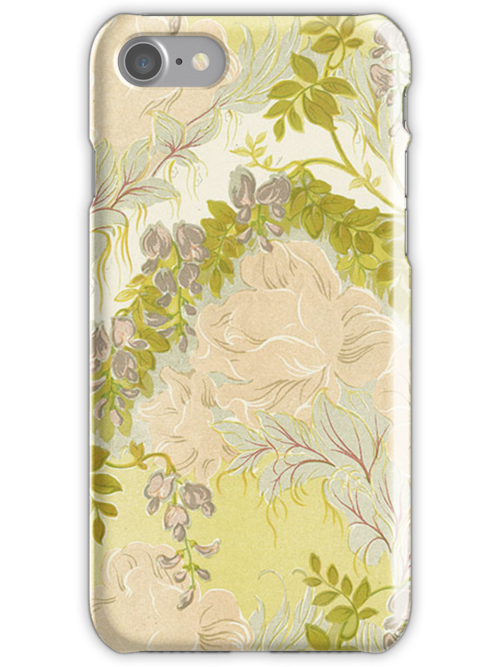 iPhone Case Nouveau Floral by Melanie  Dooley
