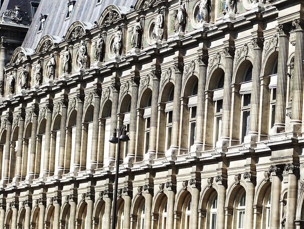 Hôtel de Ville, Paris by jlv-