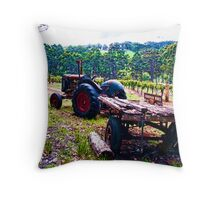 Karriview Winery Throw Pillow